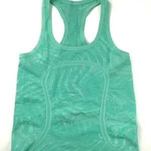 Lululemon Green Swiftly Tank Top